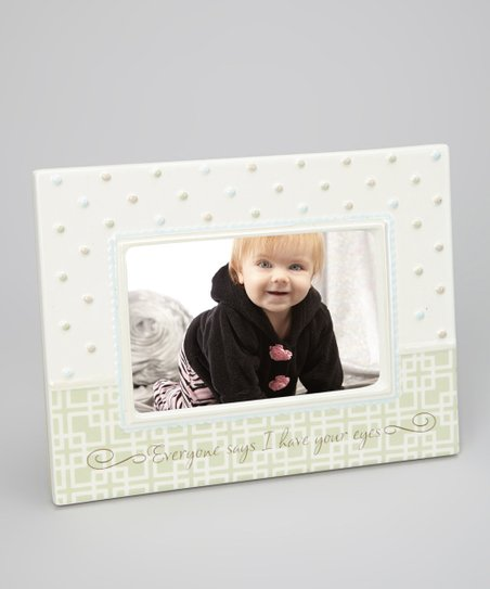 Cream Dot 'I Have Your Eyes' Frame
