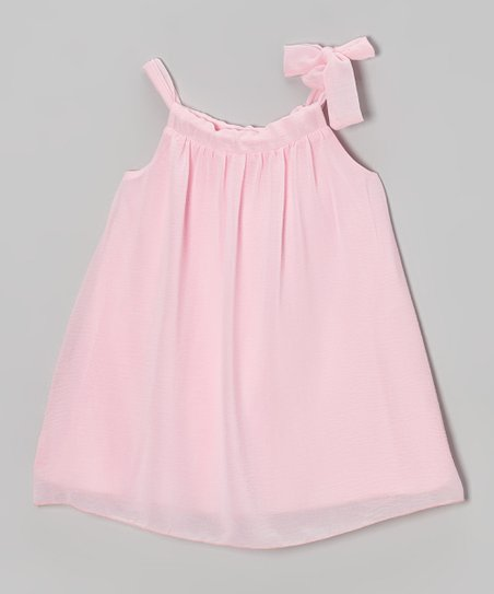 Light Pink Sydney Dress - Toddler & Girls
