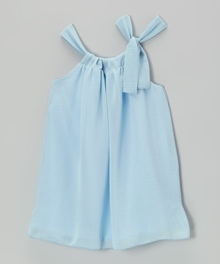 Light Blue Sydney Dress - Toddler & Girls