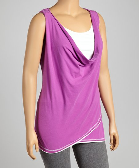 Hyacinth Sleeveless Tunic - Plus