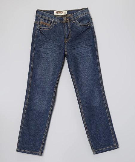 Pacific Blue Wash Denim Jeans - Boys