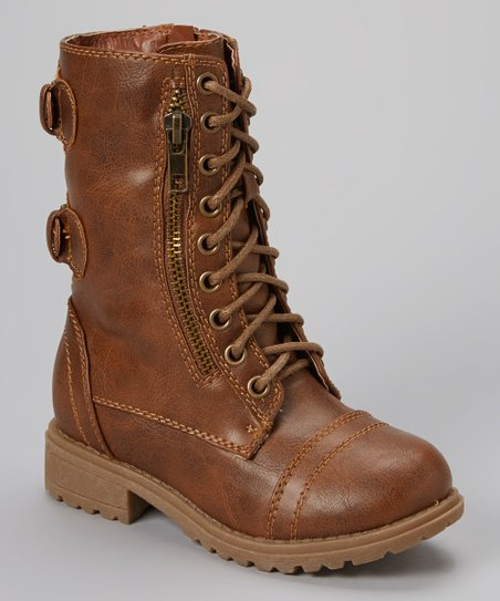 Brown Chase Combat Boot
