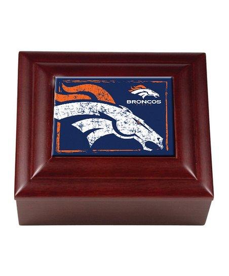 Denver Broncos Keepsake Box