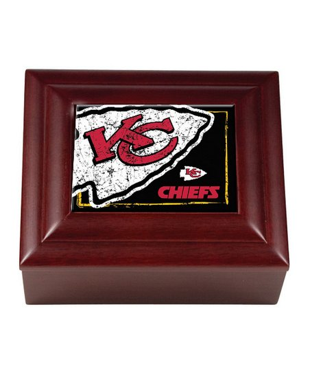 Kansas City Chiefs Keepsake Box