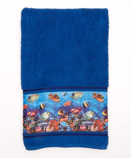 Dolphin Cove Bath Towel