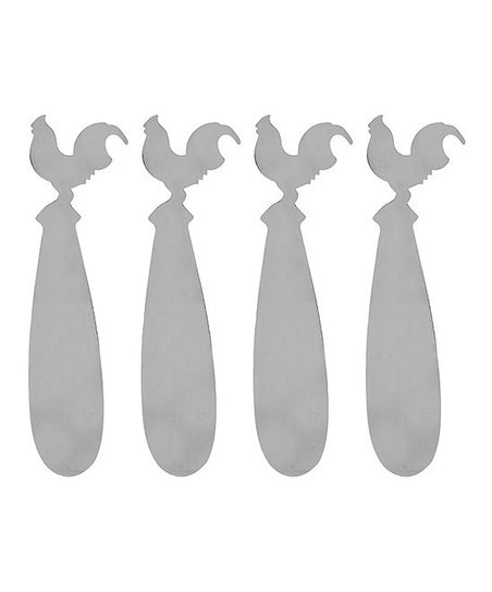 Home Essentials Rooster Spreader - Set of Four
