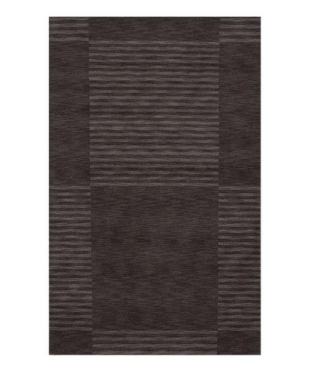 Carbon Wool Rug