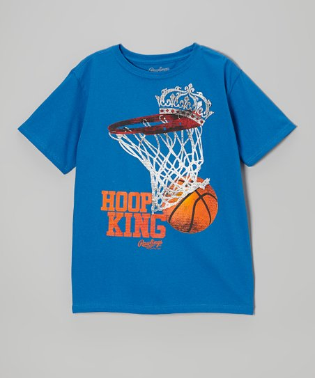 Deep Royal Blue 'Hoop King' Tee