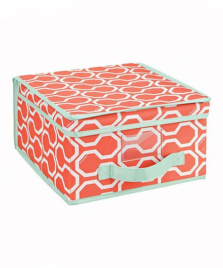 Coral Dinah Medium Storage Box