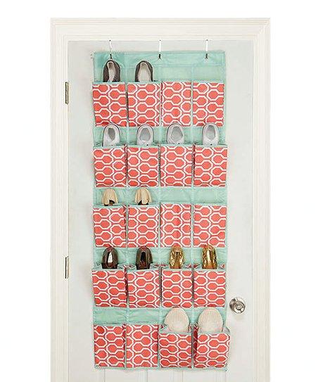 Coral Dinah Over the Door Shoe Hanger
