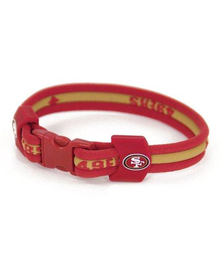 San Francisco 49ers Titanium 8.5'' Bracelet