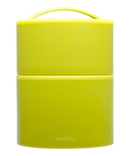 Lime Insulated Tiffin Food Carrier Set