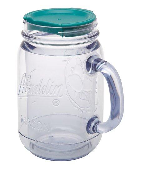 Teal Classic 20-Oz. Insulated Mason Travel Mug
