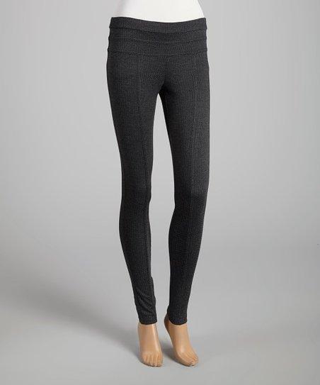 Charcoal Stretch Leggings