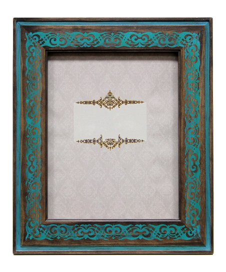 Turquoise Stamp Frame