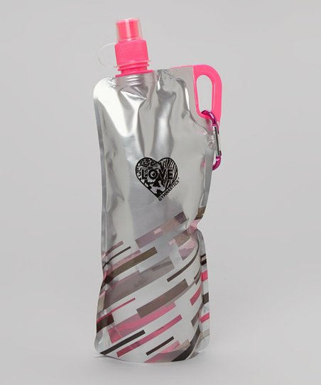 Silver Collapsible Water Bottle