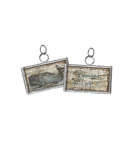 'Beached' Charm - Set of Four