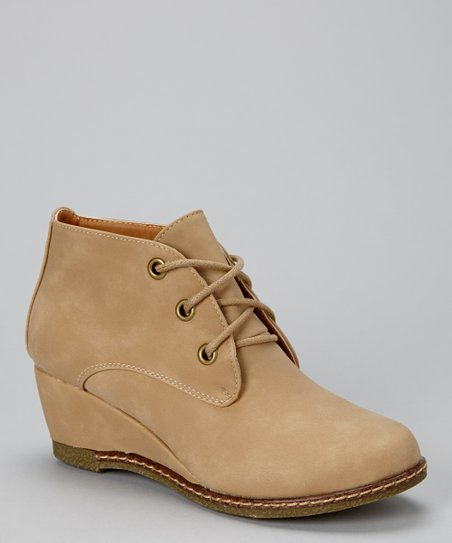 Tan Willow Bootie