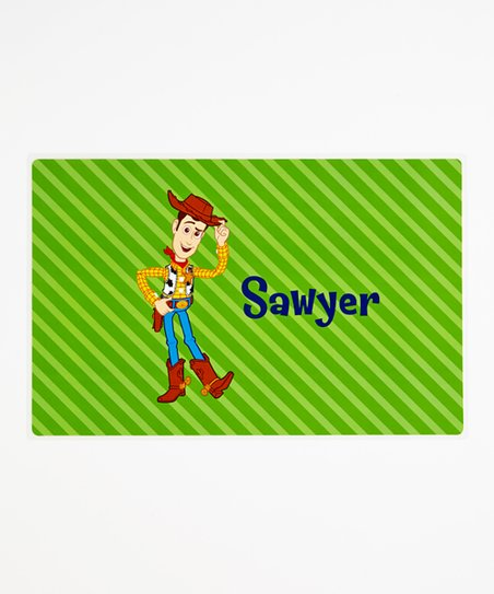Woody Personalized Place Mat