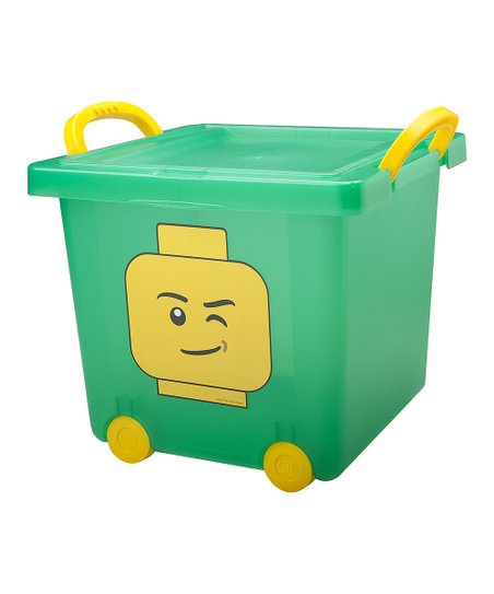 Green LEGO Stacking Bin