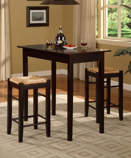 Espresso Tavern Counter 3-Piece Set