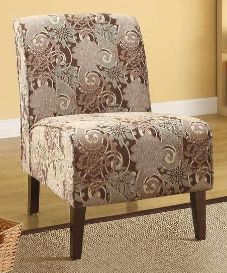 Dark Walnut Lily Lafayette Basil Chair