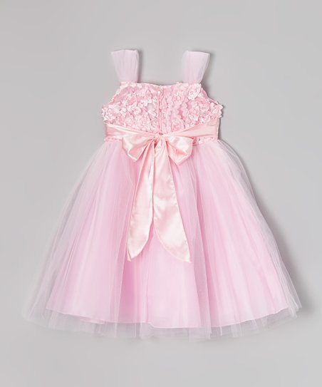 Pink Petal Dress - Toddler & Girls