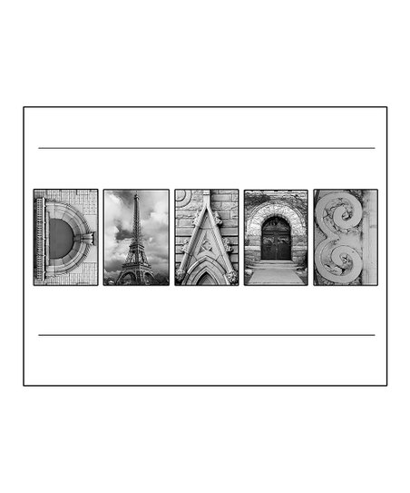 Alphabet Art Personalized Name Print