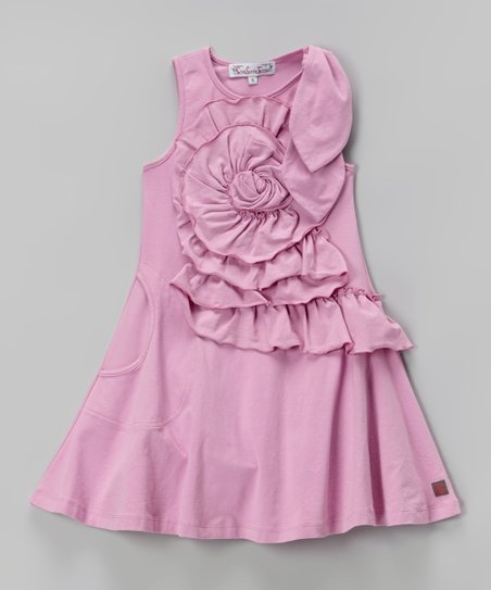 Party Pink Emma Dress - Toddler & Girls