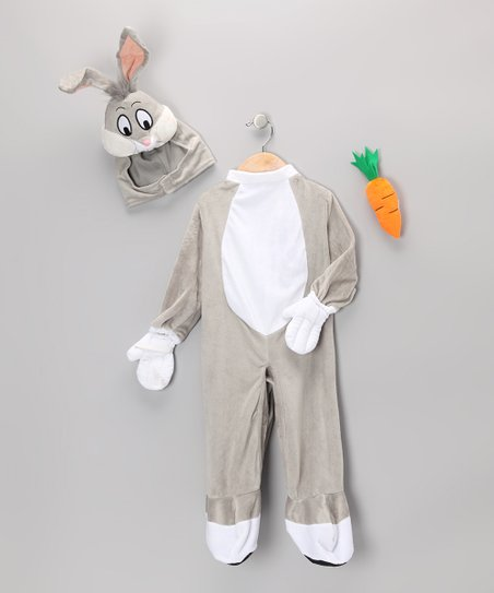Gray Bugs Bunny Dress-Up Set - Infant