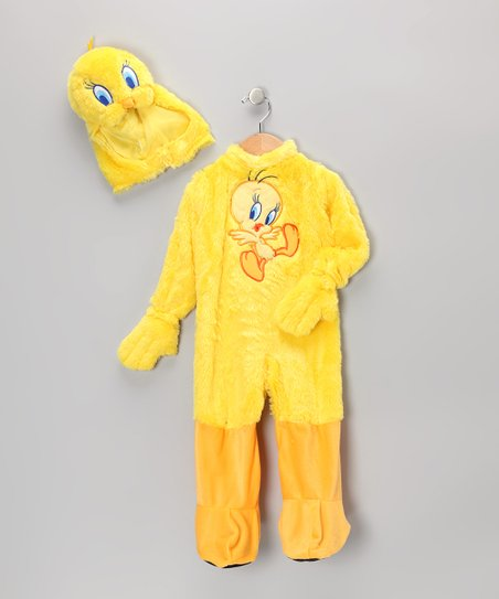 Yellow Tweety Dress-Up Set - Infant