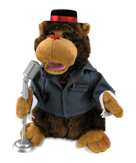 Adoring Abe Bear Musical Plush Toy