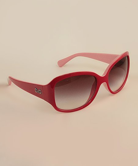 Red & Pink Tonal Sunglasses