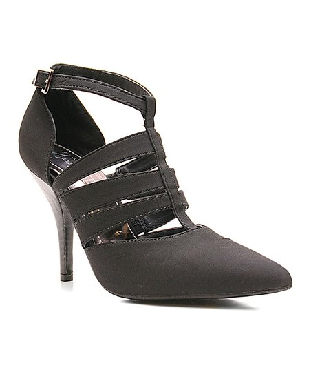 Black Cutout Too Columbus Heel