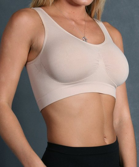 Nude Seamless Wireless Shaper Bra - Women & Plus