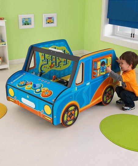 Blue Activity Car