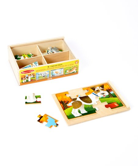 Pets: Puzzles in a Box Set