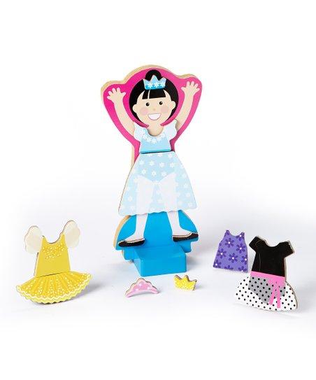 Ballerina Leah Magnetic Dress-Up Set