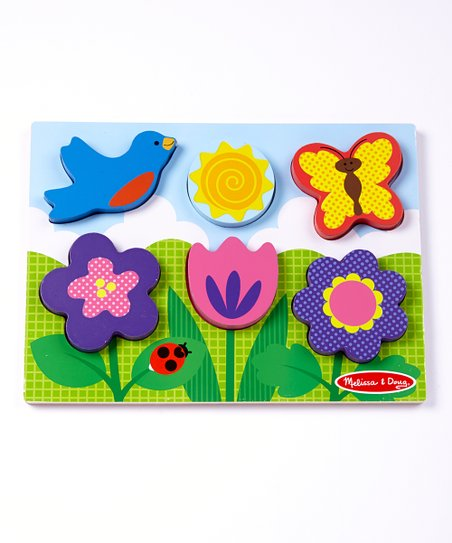 Flower Garden Chunky Puzzle