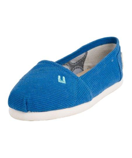 Blue Tammy Slip-On Shoe - Women