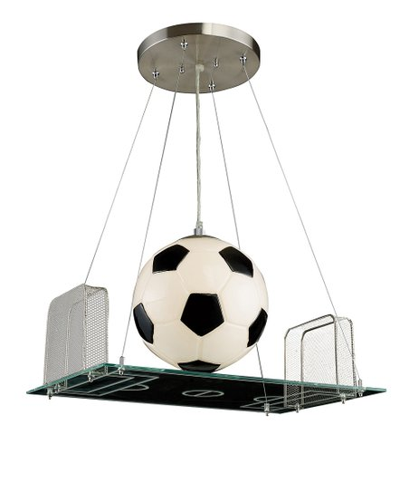 Antique White Soccer Field Pendant Lamp