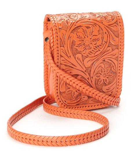 Orange Mia Crossbody Bag