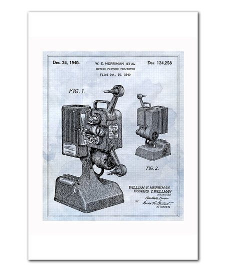 Motion Picture Projector 1940 Art Print