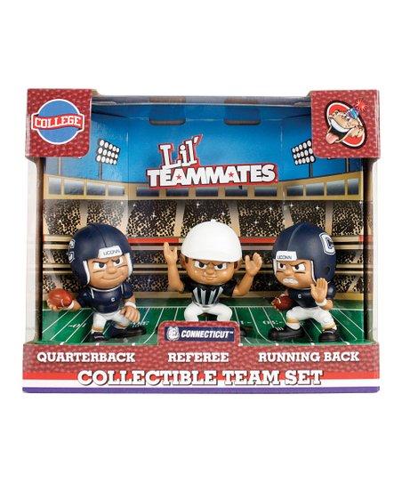 Connecticut Huskies Lil' Teammates Figurine Set
