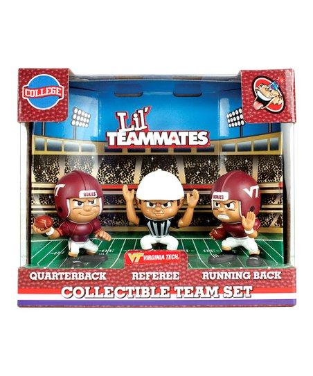 Virginia Tech Hokies Lil' Teammates Figurine Set