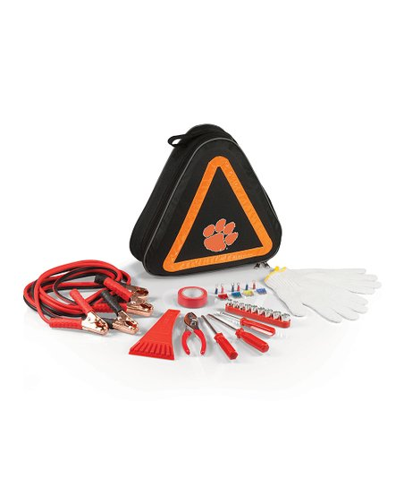 Clemson Tigers Black Roadside Emergency Kit