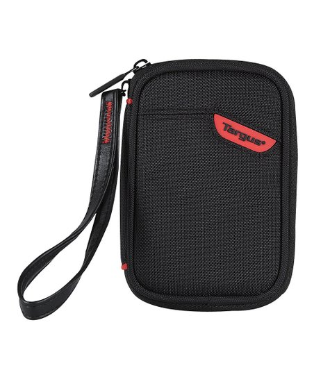 Black & Red Point-and-Shoot Camera Case