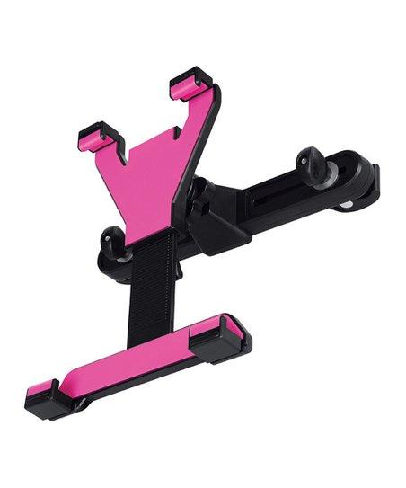 Pink & Black Universal Headrest Tablet Mount