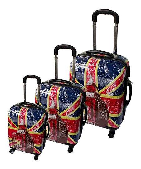 Big Ben Union Jack Luggage Set