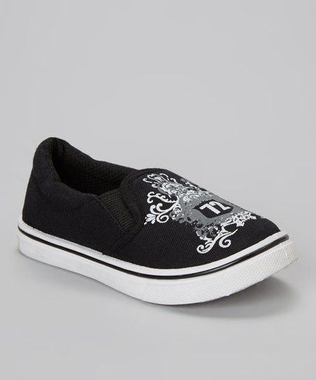 Black & White '72' Slip-On Sneaker